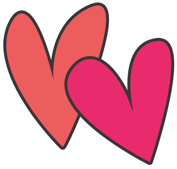 two-hearts-clipart